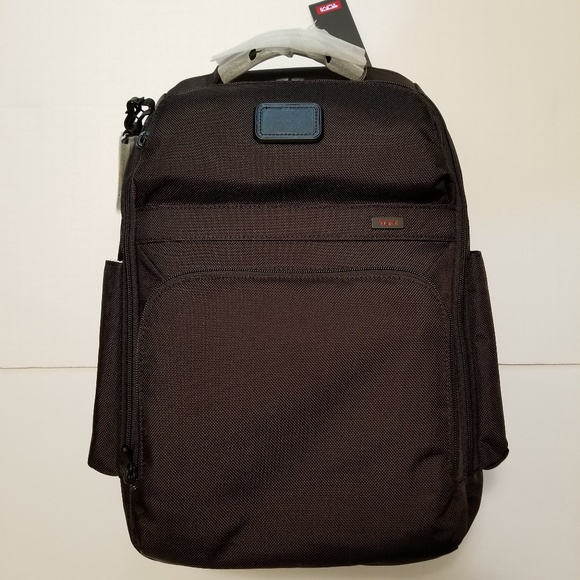 c719765e8cd7 Tumi Corporate Collection Black Backpack NWT